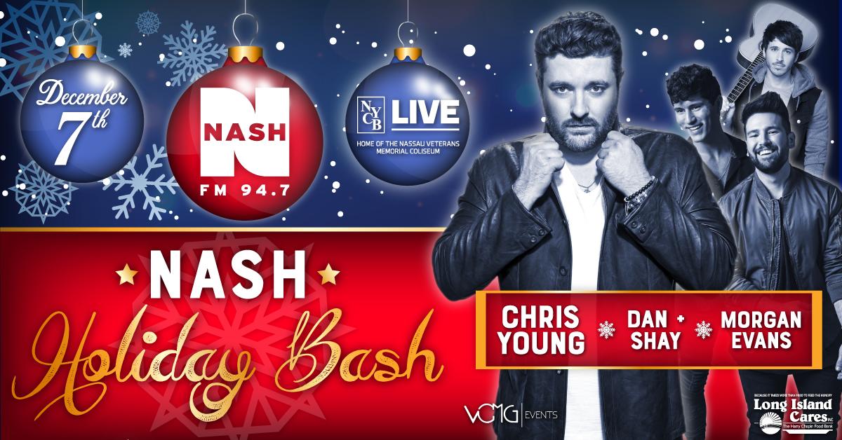 Nash Holiday Bash Starring Chris Young, Dan & Shay, Morgan Evans.