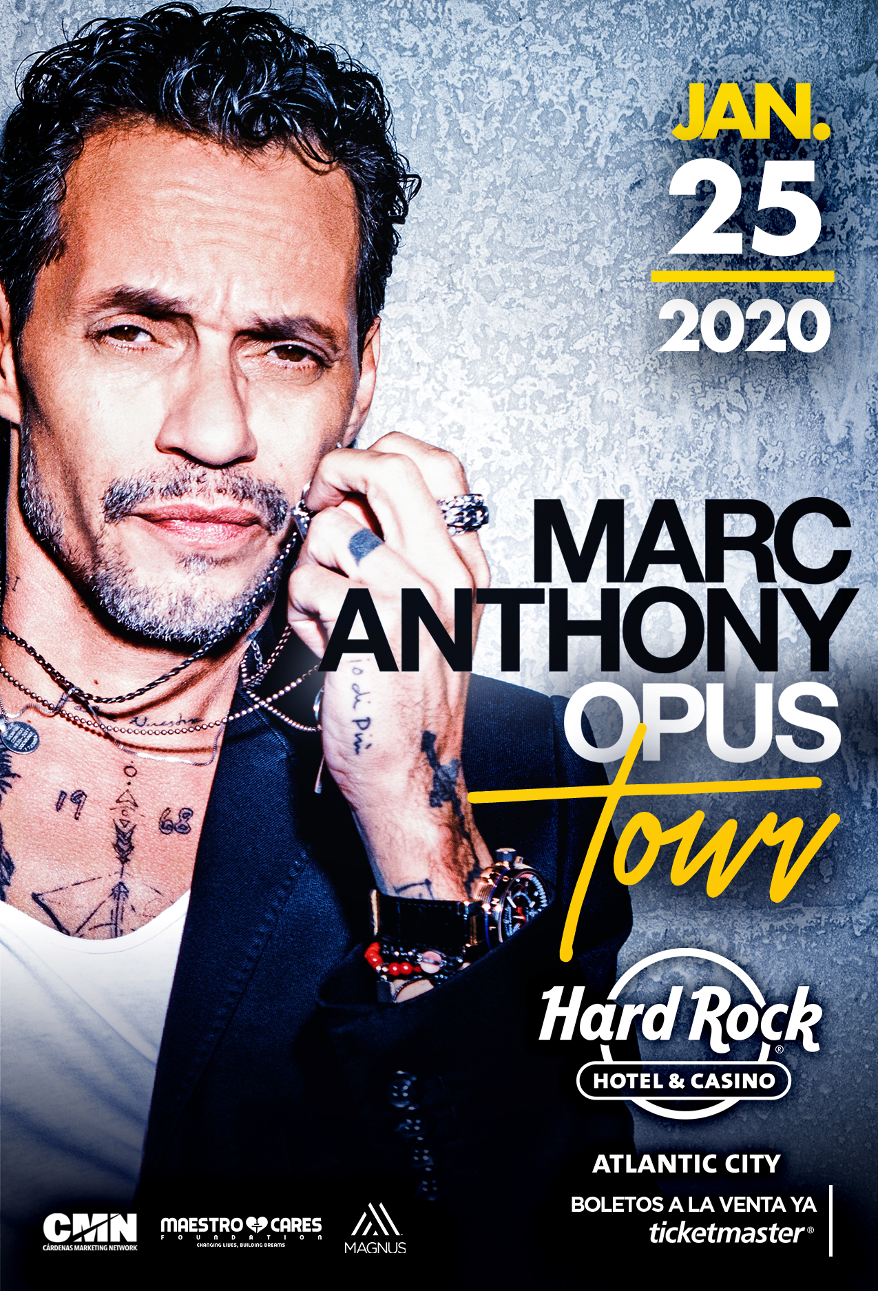Marc Anthony Opus Tour January 25th