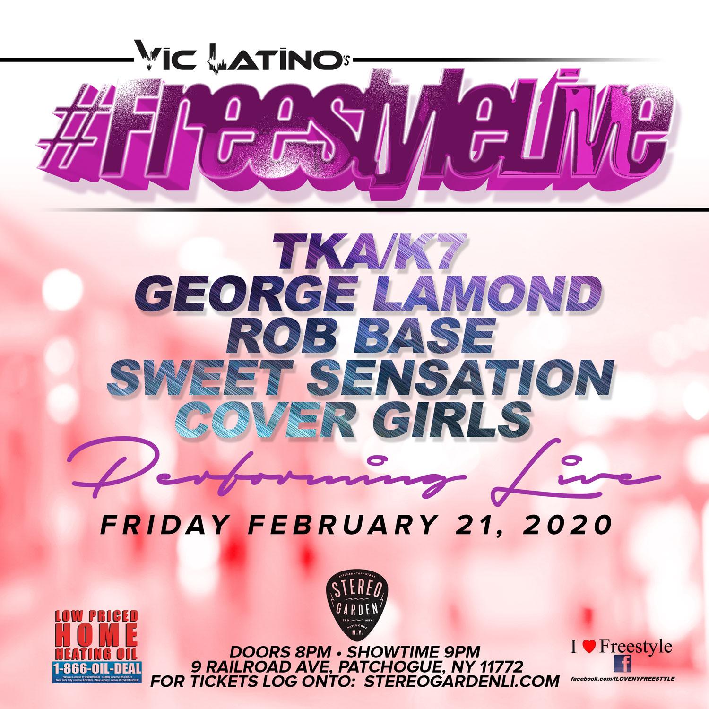 Vic Latino Freestyle, February 21st